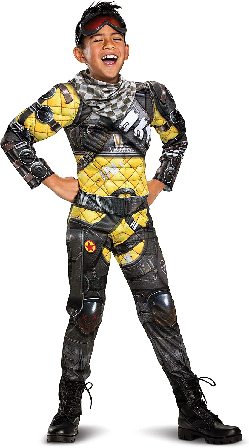 1. Disguise Apex Legends Mirage Classic Muscle Boys Costume