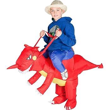 Bodysocks® Disfraz Hinchable de Dragón Niño: Amazon.es: Juguetes y ...