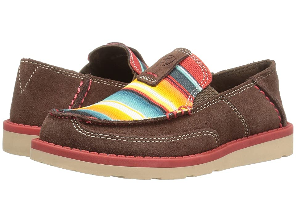 Ariat Kids Cruiser Palm (Toddler/Little Kid/Big Kid) (Brown/Serape Print) Cowboy Boots