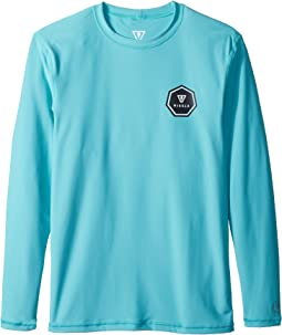 VISSLA Kids - Everyday Long Sleeve Surf Tee (Big Kids)