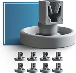 comprar comparacion Ruedas lavavajillas de Plemont® cesta inferior ruedas de lavavajillas para muchos comunes lavavajillas de Bosch Zanussi ...