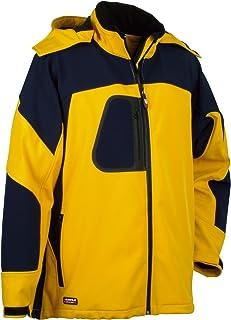 Cofra 40-00V10100-58 - Chaqueta técnica, color gelb/marine, talla 58