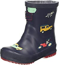 Joules Baby Printed 30th Anniversary Wellies - Navy Farmyard