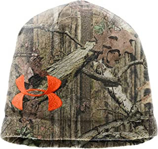 UA Camo Fleece Beanie hat Headwear by Under Armour One Size Fits All Mossy Oak Break-Up Infinity