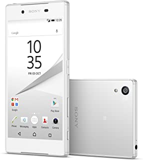 Sony Xperia Z5 Compact E5823 2GB/32GB 23MP 4.6-inch 4G LTE Factory Unlocked (White) - International Stock No Warranty