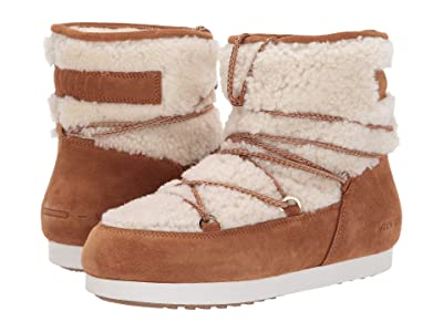 MOON BOOT Moon Boot Far Side Low Shearling (Whiskey) Women