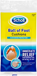 Scholl Ball of Foot Cushion Shoe Insert Comfort and Cushioning, 1 Count