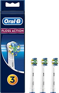 Oral B Floss Action Replacement Brush Heads Refill, 3 Count