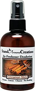 Concentrated Spray For Room / Linen / Room Deodorizer / Air Freshener - 4 fl oz - Scent - Cinnamon Stick: A full bodied scent of rich spicy cinnamon. This fragrance is infused with natural essential oils, including Cinnamon, Clove, Cinnamon Bark and Nutmeg.
