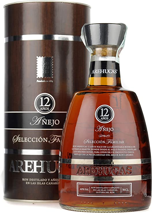 AREHUCAS Ron Reserva Special 12 años Rum (1 x 0,7 l)