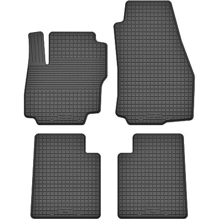 2008-2015 4-teilig Passgenau Oval Clips Velour Fußmatten Satz Ford Mondeo MK4