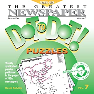 Greatest Newspaper Dot-to-Dot Puzzles (Vol. 7) - Mini Travel Size (5.5