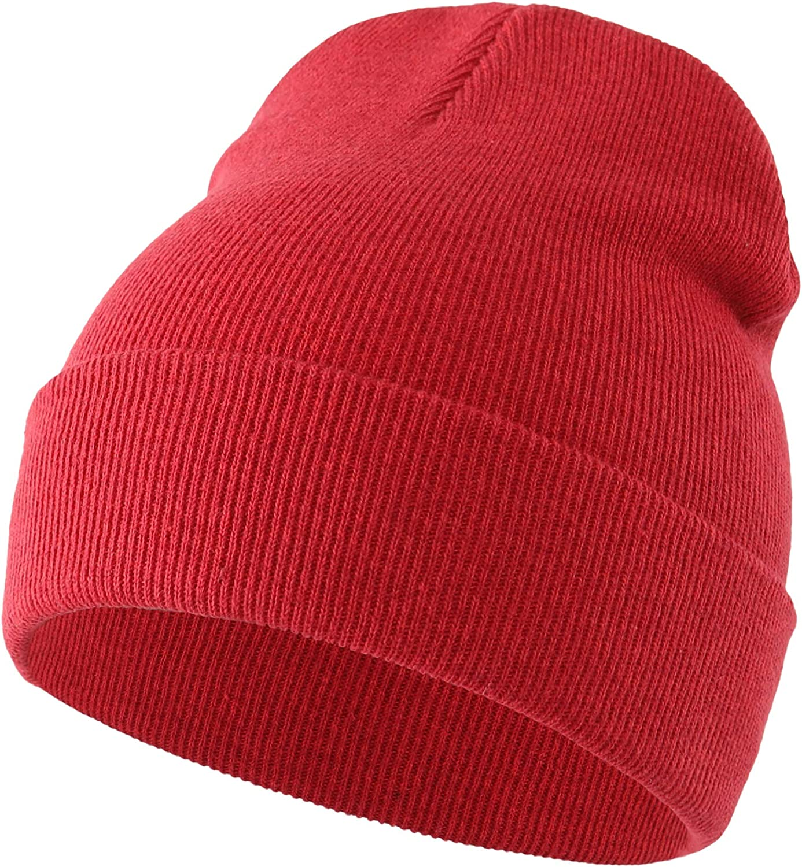 Home Prefer Baby Toddler Boys Kids Knit Hat Cotton Cuff Beanie Warm Skull Cap