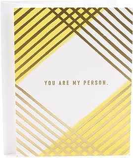 Hallmark Love Card, My Person (Romantic Anniversary Card or Birthday Card)