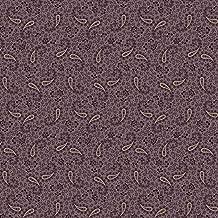 Marcus Fabrics Paula Barnes Companions Purple Paisley Flowers