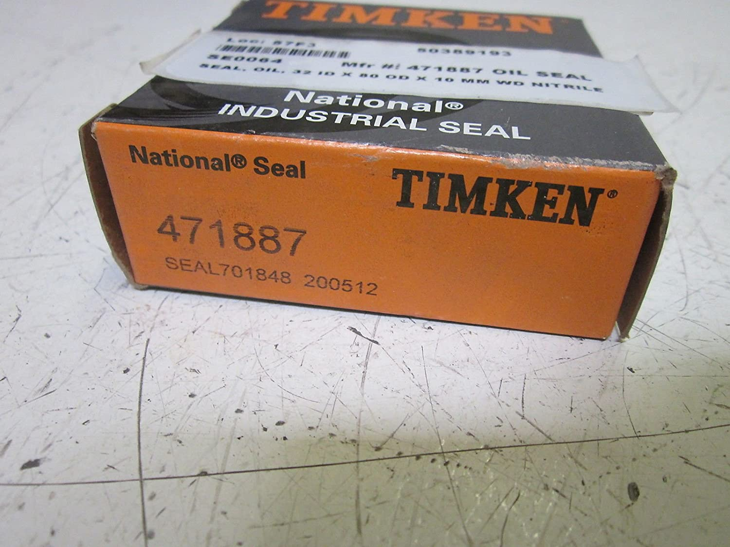 Timken 471887 All Quantity limited stores are sold Seal