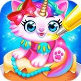 Cute Pet Dress Up Cakes - Kids Rainbow Baking & Cooking Games