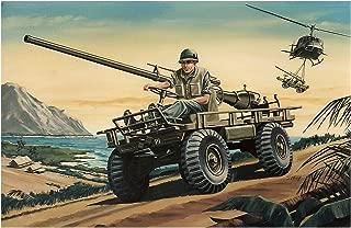 Glencoe M274 Mechanical Mule 1:15 Scale Military Model Kit