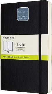 Moleskine - Classic Soft Cover Notebook Expanded - Plain - Large - Black