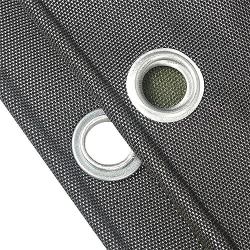 LIYFF Couvertures imperméables de bache de bache de bache de 100% pour Le Camping, la pêche, Le Jardinage, épaisseur 0.7mm, Options de Multi-Taille