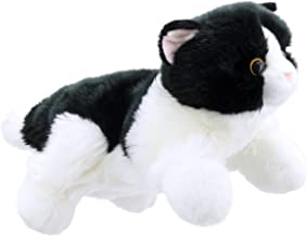 The Puppet Company Full-Bodied Animal  Hand Puppets Cat Black and White