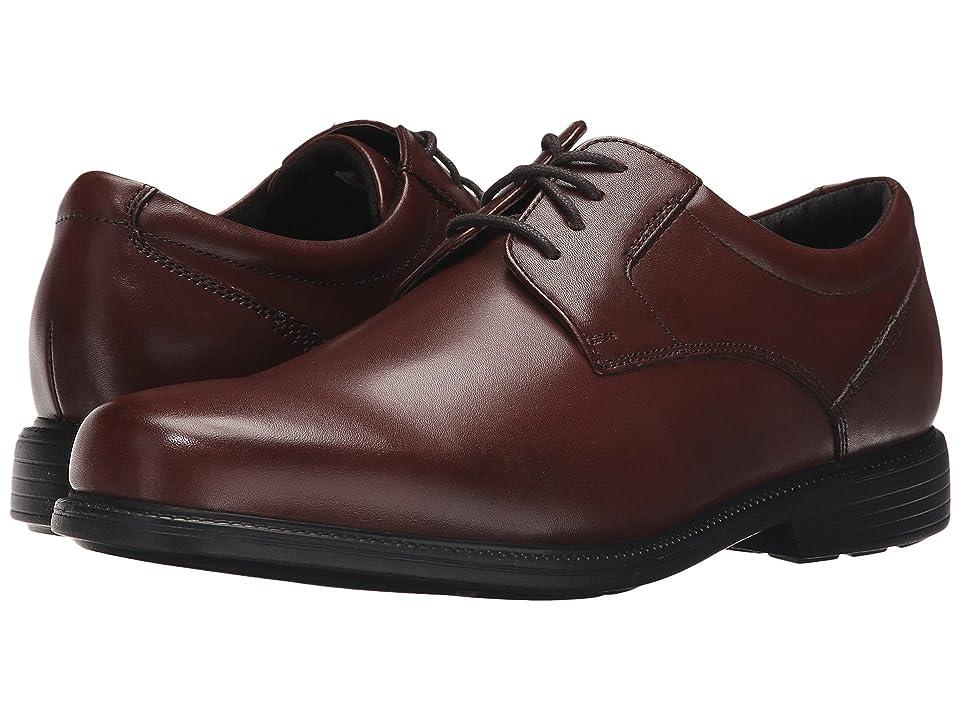 Rockport Charles Road Plain Toe Oxford (Tan II Leather) Men