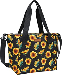 MIER Lunch Bags for Women Large Insulated Lunch Tote Bag Lunchbox Container for Work College Travel Beach, Adjustable Shou...