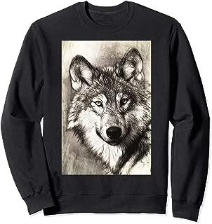 Grey Wolf Wilderness Splendor Nature Sweatshirt