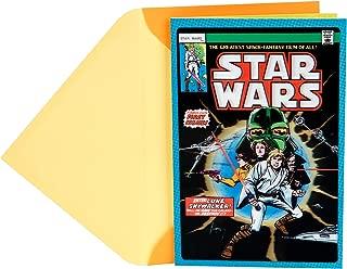 Hallmark Star Wars Father's Day Card for Dad (Luke Skywalker Lenticular Motion)