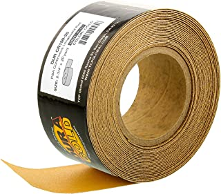 Dura-Gold - Premium - 150 Grit Gold - Longboard Continuous Roll 20 Yards Long by 2-3/4