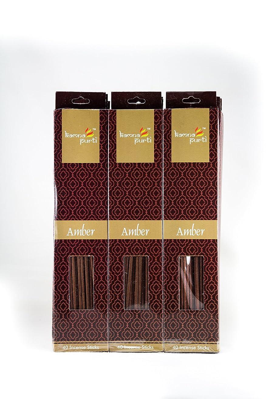 宇宙船どんよりしたモッキンバードSBF Crafts 12セットIncense Sticks (40?Sticks/各) Amber Highly Fragrance Incense Infused with Essential Oilsパーティ用理想的、Spa & Aroma Therapy。