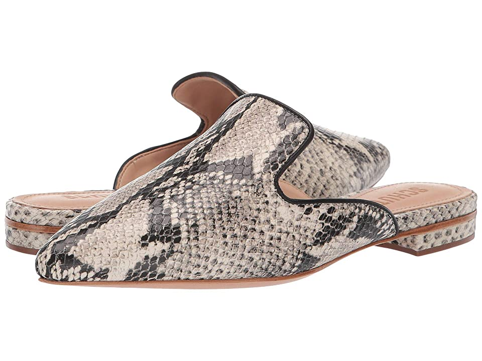 Schutz Tracy (Natural Snake) Women's Slip on Shoes