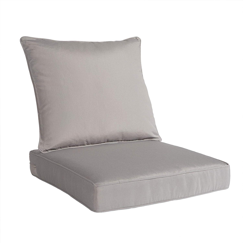 Genuine Art Leon Outdoor Indoor Patio Deep Chair Cushion Inclu Seat Set Branded goods