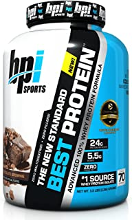 BPI Sports Best Protein, Chocolate Brownie, 5 Pound