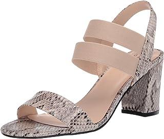 صندل نسائي بكعب من Bandolino Footwear ، متعدد طبيعي، 5