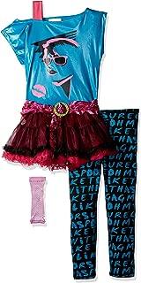 80's Valley Girl Child Costume, Blue, Medium (8-10)