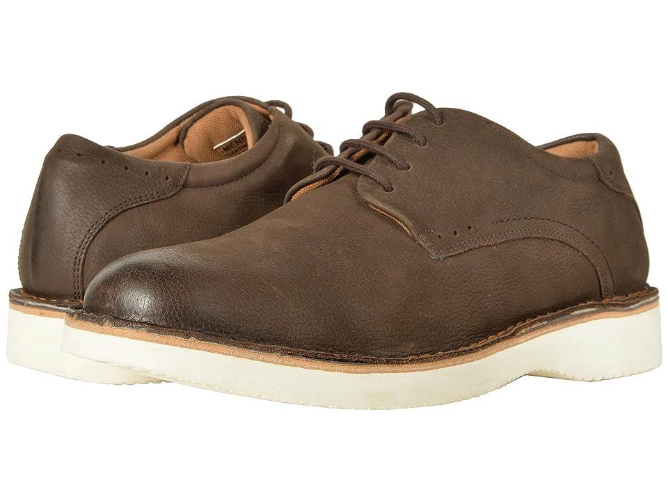 Florsheim Navigator Plain Toe Oxford (Brown Nubuck) Men