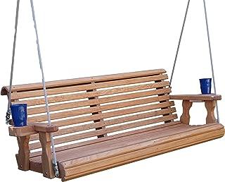 5 foot teak porch swing