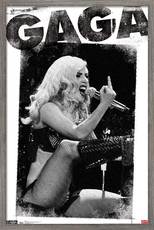 Trends International Lady Gaga - Finger Virginia Beach Mall Wall 3 22.375