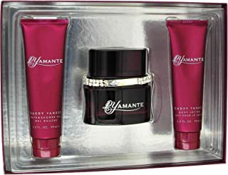 Daddy Yankee Dyamante for Women Gift Set - 3.4 oz. EDP Spray 3.0 oz. Body Lotion 3.0 oz. Shower Gel