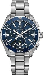 TAG Heuer - Aquaracer Reloj de hombre cuarzo 43mm correa de acero CAY111B.BA0927