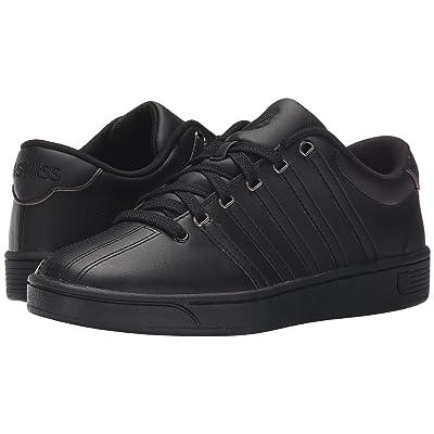 K-Swiss Court Pro II CMF (Black/Gunmetal Leather) Women