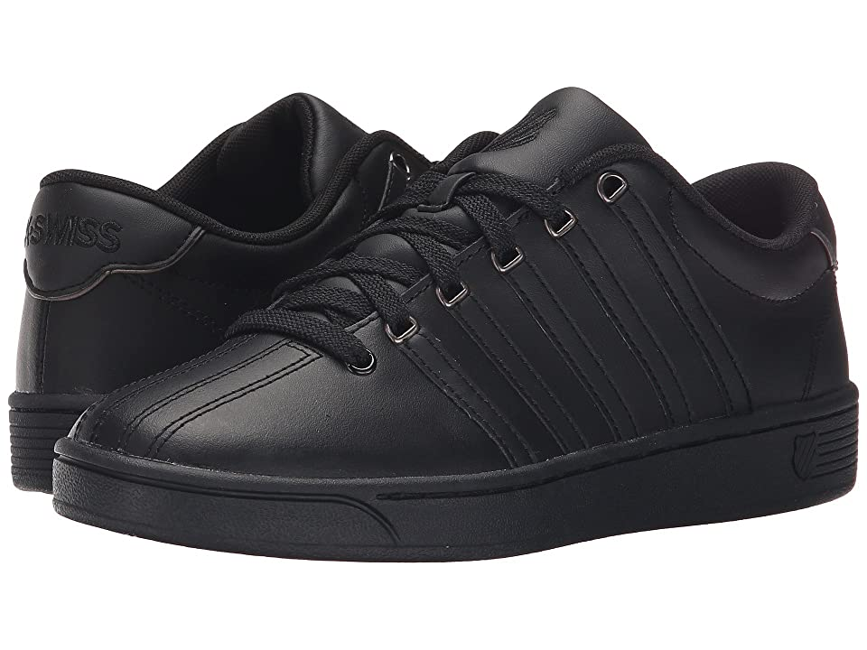 K-Swiss Court Pro II CMF (Black/Gunmetal Leather) Women