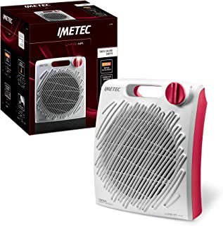 Imetec Living Air C2-200 Calefactor compacto 2200 W, termostato ambiente, practica asa