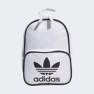 black and white mini backpack