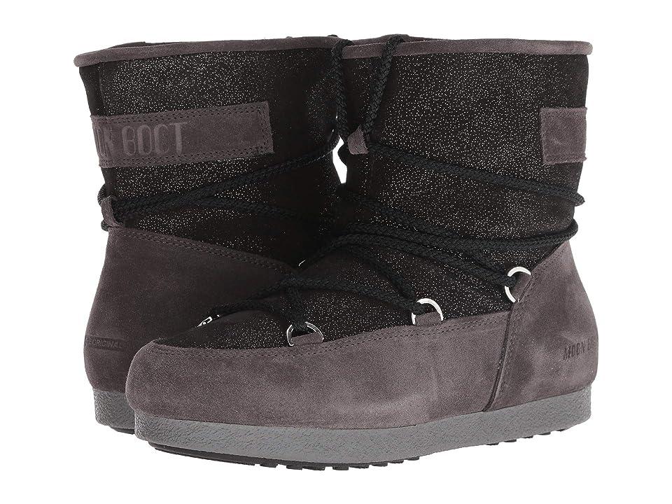 Tecnica Moon Boot Far Side Low Suede (Black) Women
