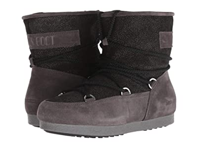 MOON BOOT Moon Boot Far Side Low Suede (Black) Women