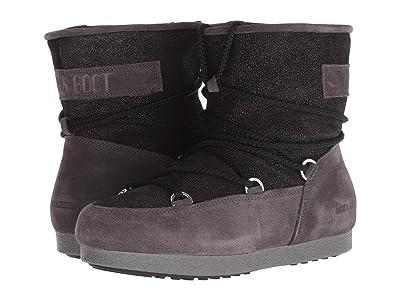 MOON BOOT Moon Boot Far Side Low Suede (Black) Women