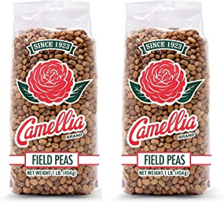 Camellia Field Peas, 1 Pound Bag (Pack of 2)
