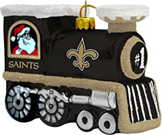 Topperscot NFL Blown Glass Train Ornament